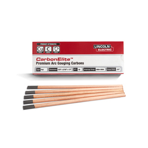 CarbonElite Flat Gouging Electrodes - 5/8 in. x 3/16 in. x 12 in.